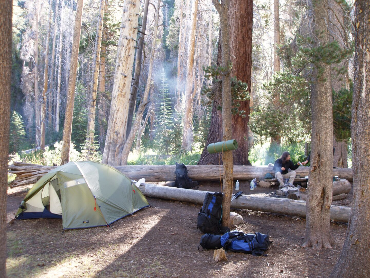 Upper Sphinx Creek Camp Site