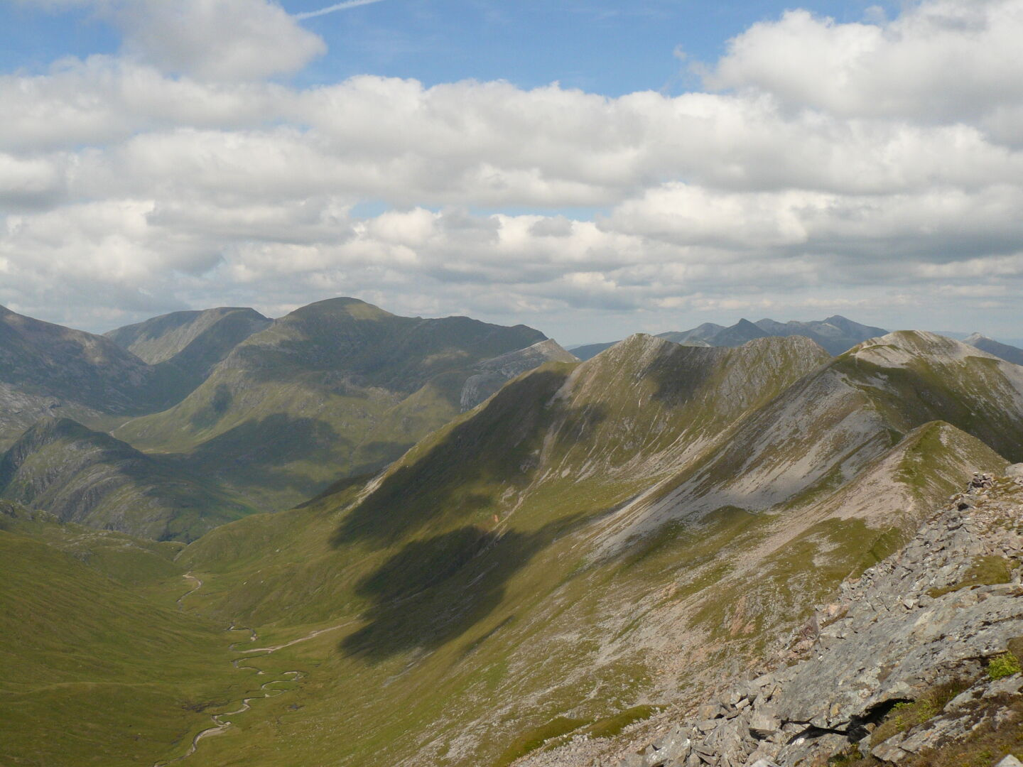 View towards Stob Coire a' Chàirn