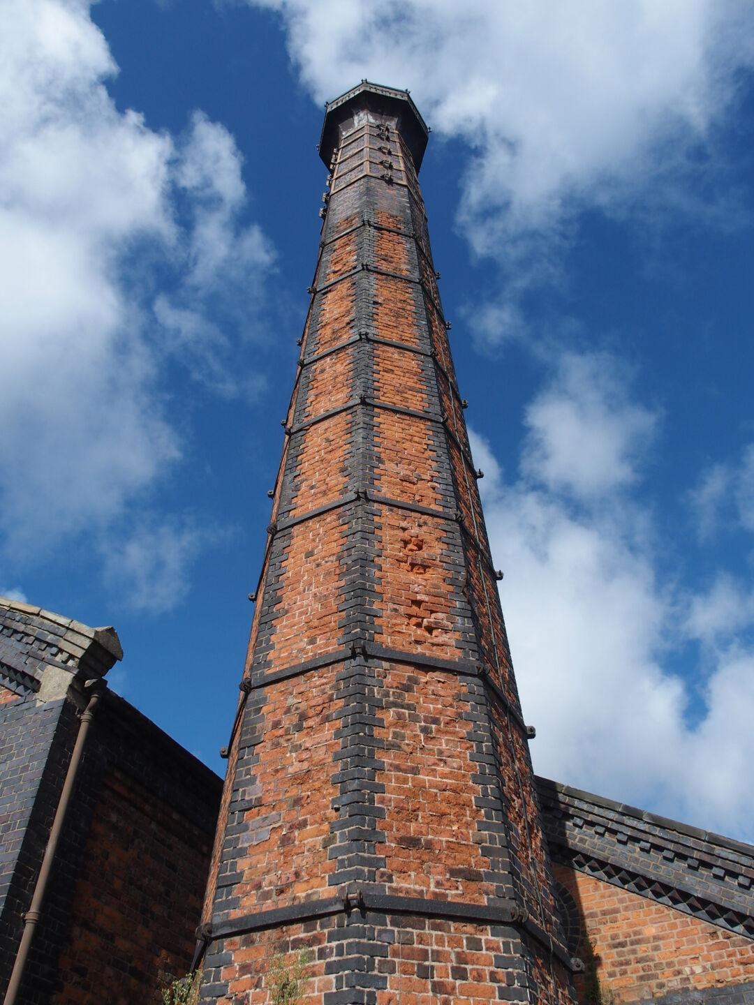 Chimney at the National Waterways Museum.