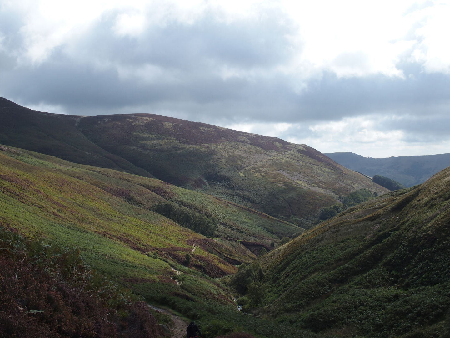 Grindsbrook Clough valley near Edale.