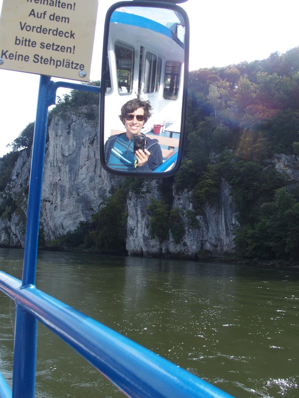 Donaudurchbruch per Boat and Bike.