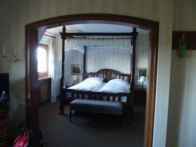 Fürstlicher Komfort im Burghotel in Rothenburg ob der Tauber.